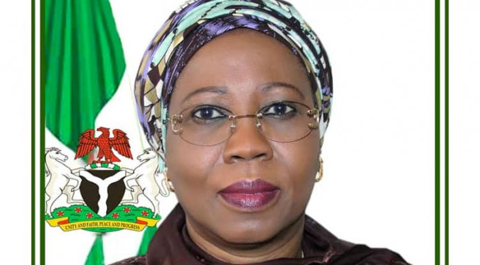 Minister of Industry, Trade and Investment, Mrs. Mariam Katagum