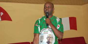 Mr. Onome Ojo, PDP chairman in Ethiope West, Delta State