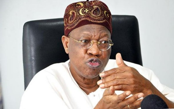 Nigeria's Minister of Information, Lai Mohammed