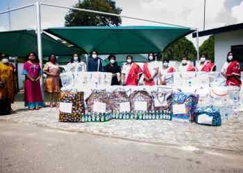 Mrs. Obaseki with members of the CWFI