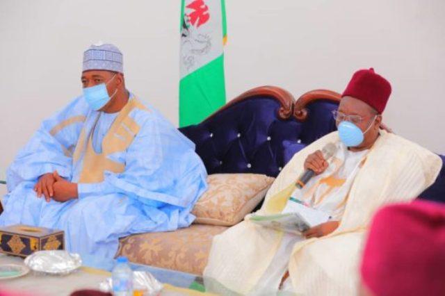 Shehu of Borno and Governor Babagana Zulum