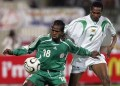 Christian Obodo in Nigeria jersey during his active years in Super Eagles