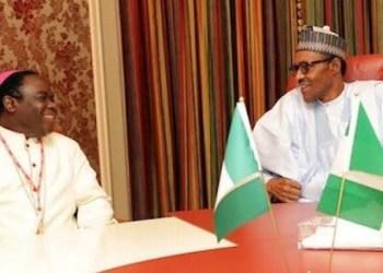 Bishop Matthew Kukah and President Muhammadu Buhari