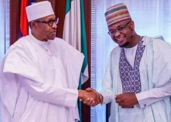 President Buhari and Isa Pantami