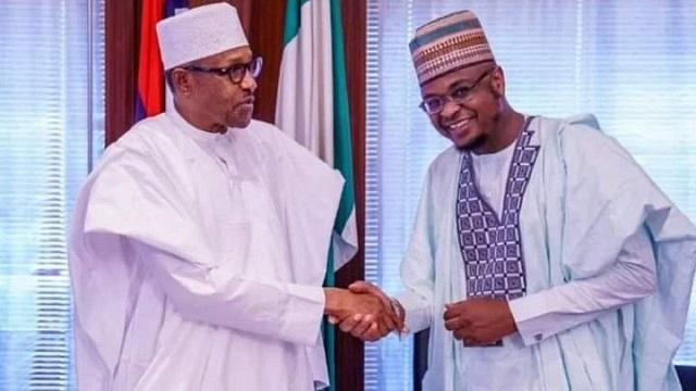 President Buhari and Isa Pantami