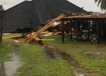Damaged parts of 911 Resort