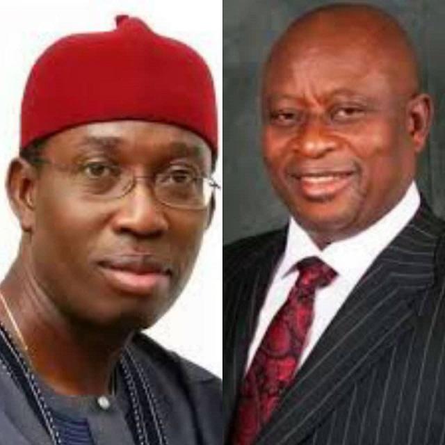 Governor Okowa and Olorogun Gbagi