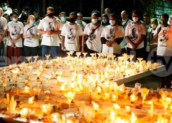 Candle light in honour of Prophet TB Joshua on Monday