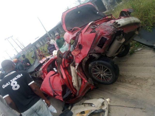 Scene of the Ughelli accident