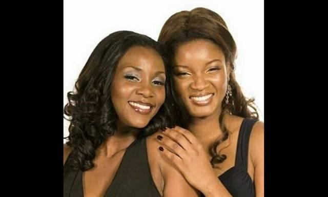Genevieve Nnaji and Omotola Jalade Ekehinde