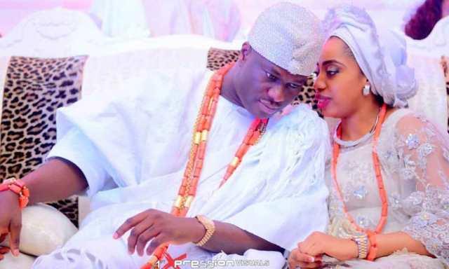 Olori Wuraola and Oba Enitan Adeyeye Ogunwusi
