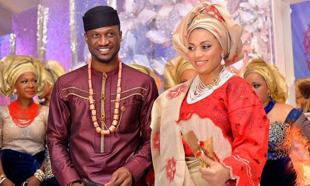 Peter Okoye and Omotayo