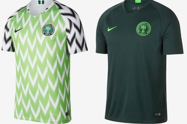 Image result for Nike unveil new Super Eagles kits for 2020