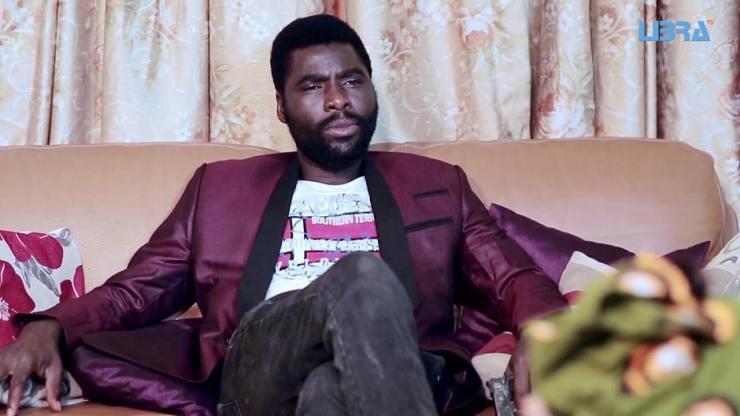 Yoruba Actors - Ibrahim Chatta at an Interview