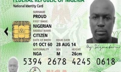 National Identity Card registration in Nigeria