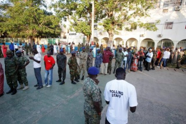 Image result for Gambia Conducts First Parliamentary Election After Yahya Jammeh's Exit
