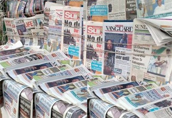 Nigerian Newspapers Today : Monday 16th November 2020