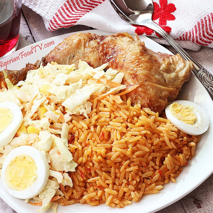 Nigerian Jollof Rice(the Party Jollof Rice)