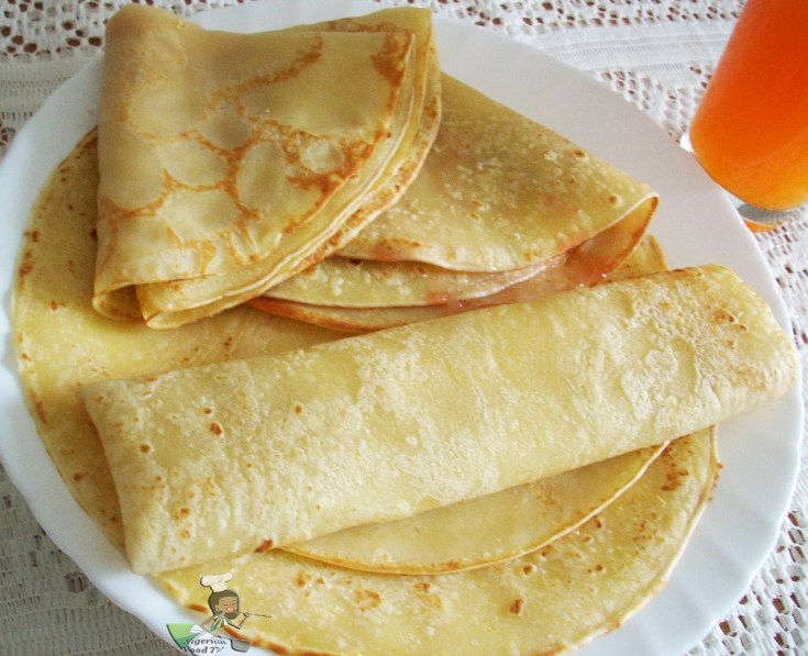 Nigerian Pancake is simply delicious. With a sweet, savoury and slightly spicy taste you can't resist