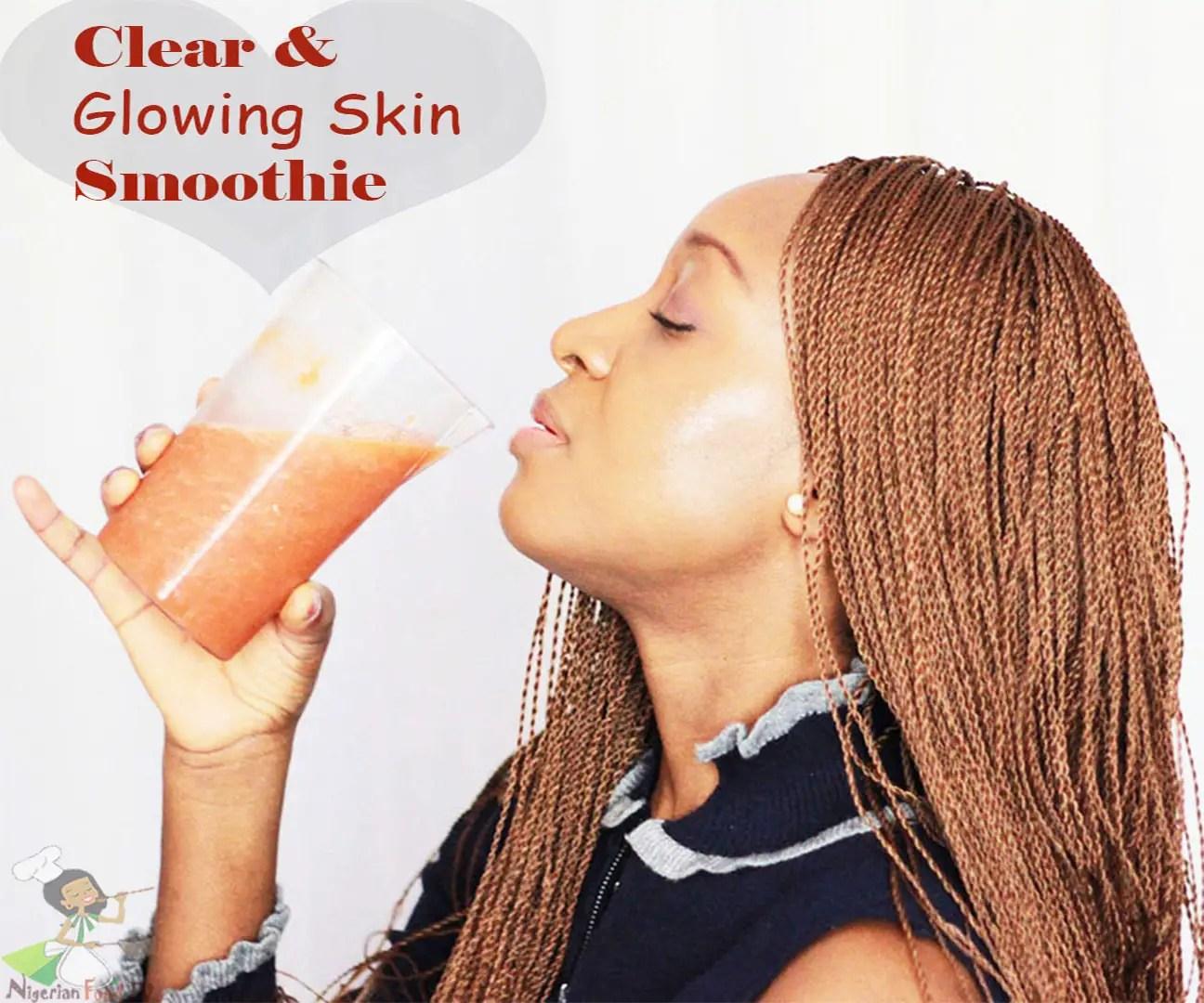 Skin Glowing Smoothie: Get Clear Skin in 5 days