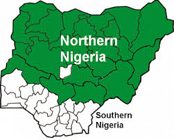map showing the northern states in nigeria