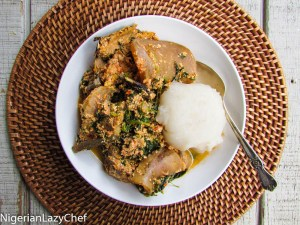 How To Prepare Egusi Soup With Uziza