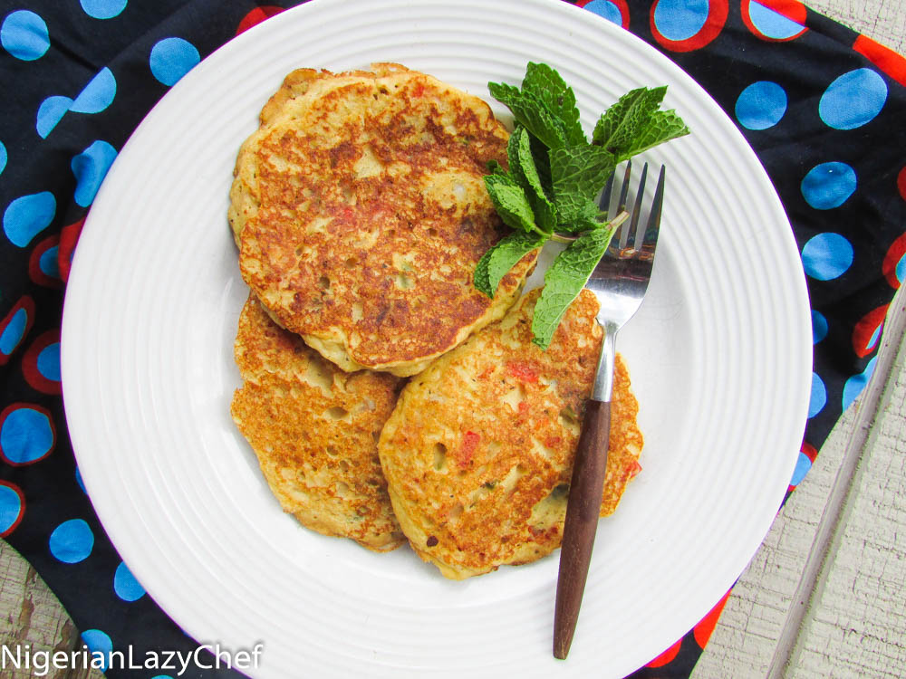 Fluffy nigerian yam pancakes nigerian lazy chef i still remember how i came up with this recipe i was watching a kids cooking program well in my sub consciousness as i was trying to get some sleep ccuart Images