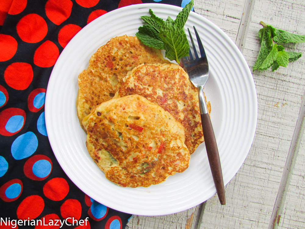 Fluffy nigerian yam pancakes nigerian lazy chef img2364 ccuart Images