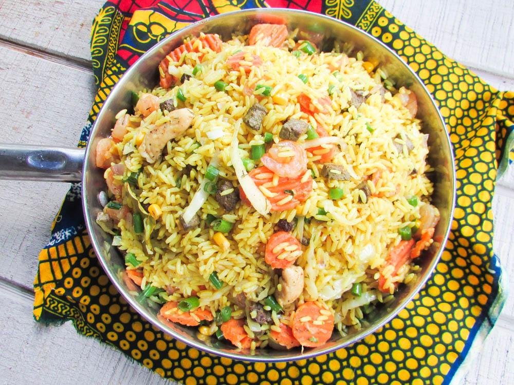 Mommy's Nigerian Fried Rice   Nigerian Lazy Chef