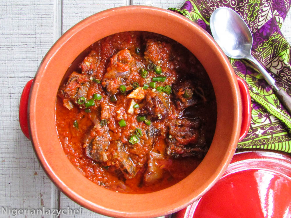 Easy Goat Meat Stew