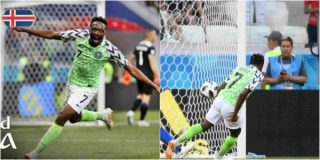 Image result for W/Cup: Ahmed Musa's goal shortlisted amongst best 18 goals