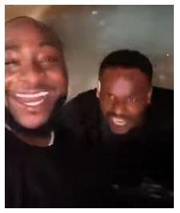 Davido features in Onitsha as Zubby Michael clears the road for him [VIDEO]