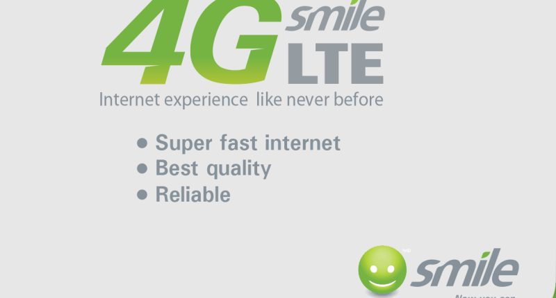Smile 4G LTE Internet Data Plans, Bundles and Starter Pack Prices