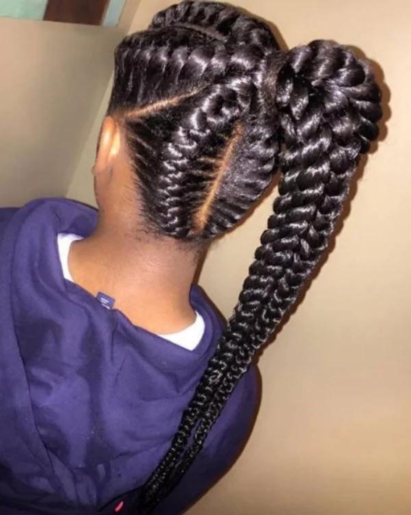 nigerian braiding hairstyles