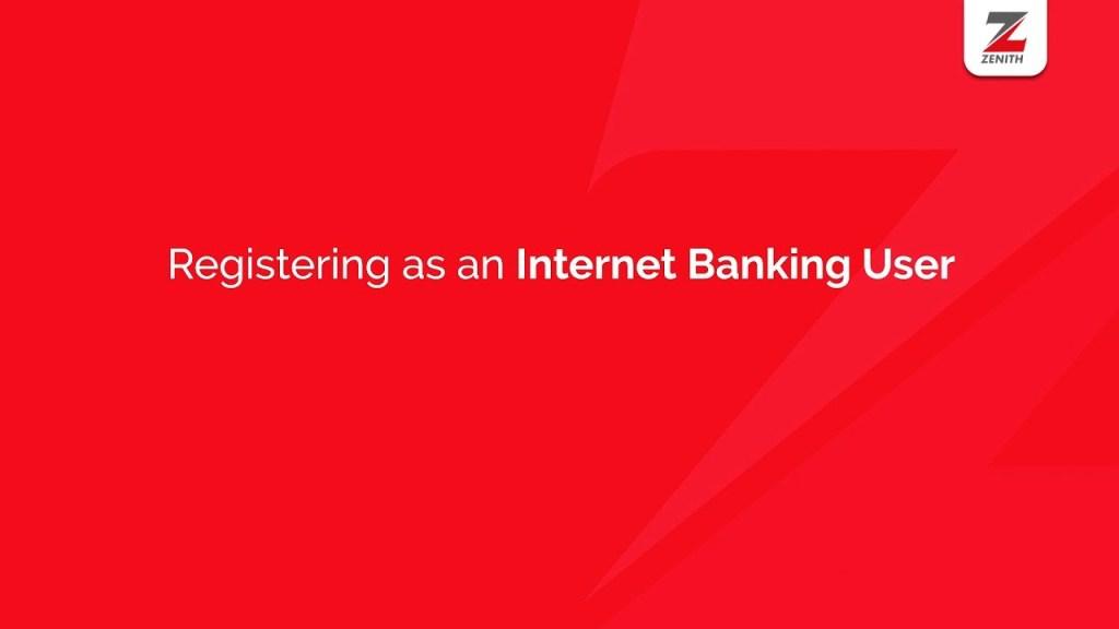 Zenith Internet Banking