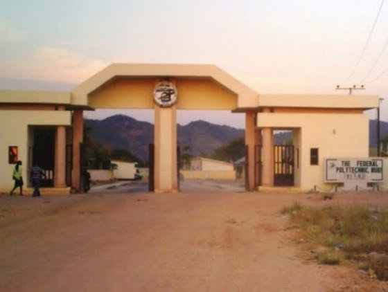 Entrance of Federal Polythechnic Mubi