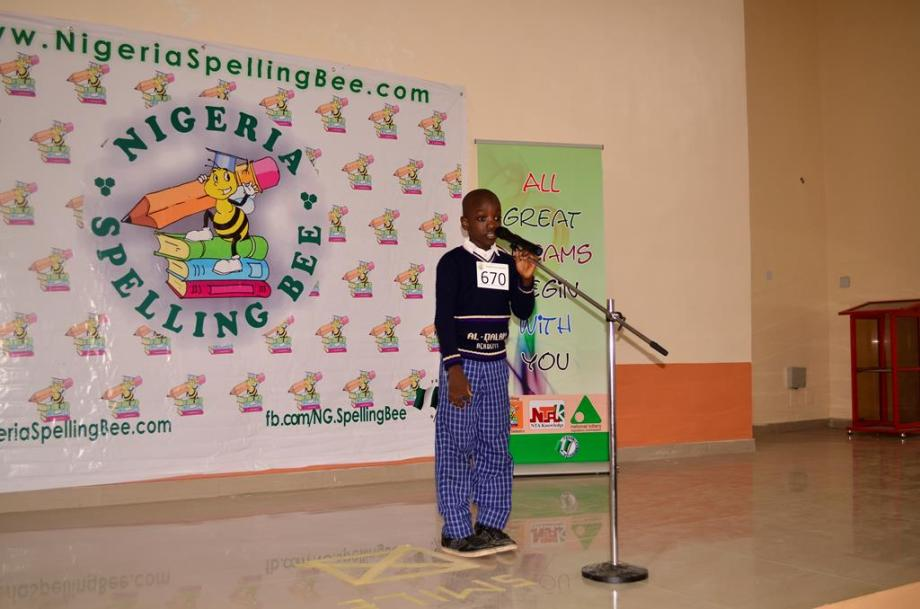 `Nigeria Spelling Bee Ogun State Competition