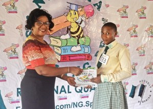 Nigeria Spelling Bee South-East Regional Competition