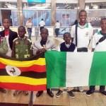 Nigeria Spelling Bee Team Arrive South Africa