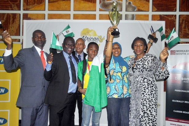 Nigerian Wins African Spelling Bee Champion Title