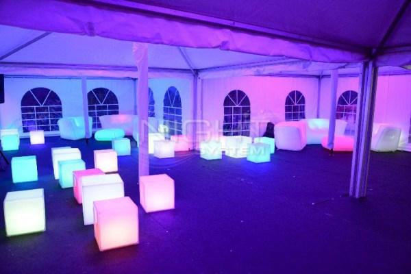 Cube LED Slide 50cm (Assise)
