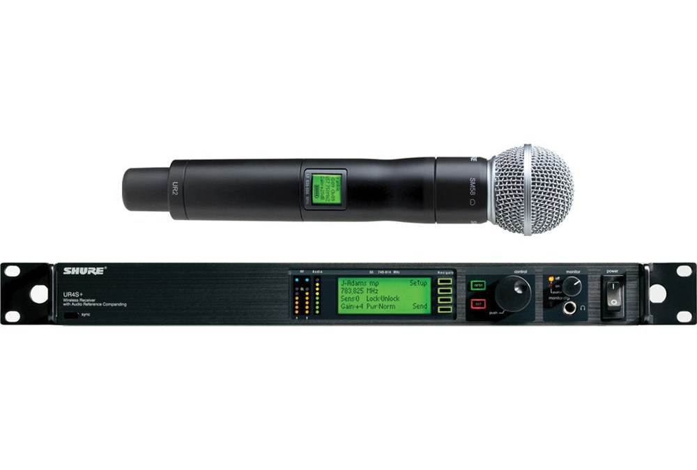 Kit Micro Main sans fils SHURE SM58 UR2 UHF – Gamme Professionnel
