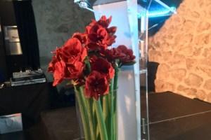 Pupitre de Conférence plexiglas OSLO équipé