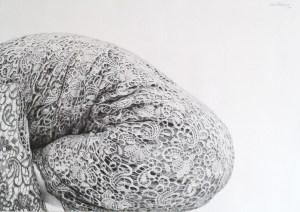 Милена Цочкова, Без име, молив, хартия, 50х70