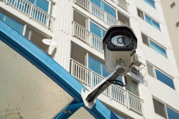 Hasil gambar untuk CCTV apartemen