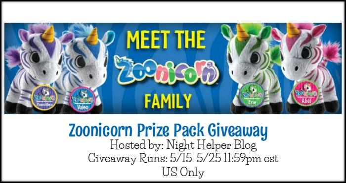 Zoonicorn Giveaway
