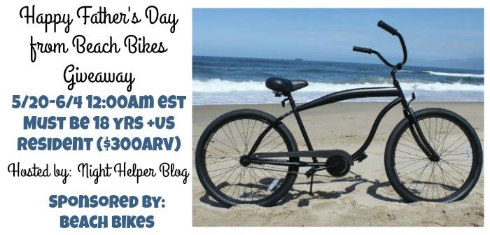 beach bikes giveaway