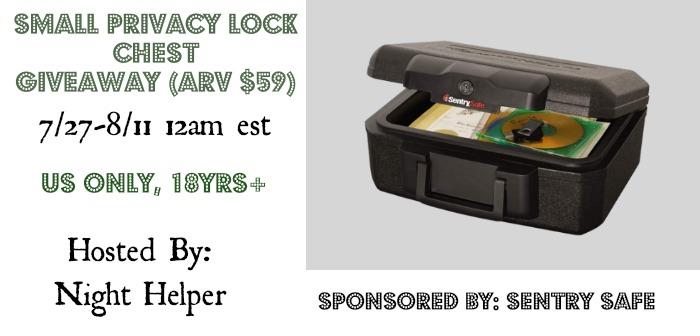 sentry safe giveaway