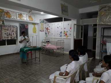 MCH Lab in Nightingale College of Nursing Trivandrum