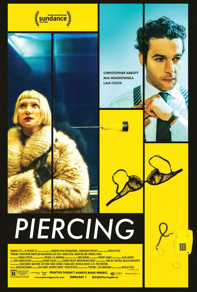 [News] PIERCING Arrives on Blu-ray and DVD March 12